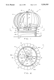 attic ventilation turbine patent us5326313 thrust bearing assembly for roof turbine