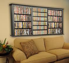 Wall Storage Units by 35 Dvd Wall Storage Rack Dvd Wall Rack Media Storage 8711 This