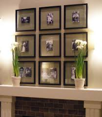 ideas for decorating above a fireplace mantel amys office