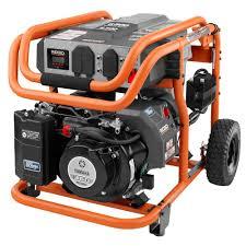 ridgid 6 800 watt idle down gasoline powered electric start