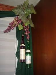 dollar tree wine themed decorations just added wine corks from