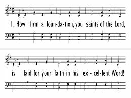 thanksgiving hymns how firm a foundation trinity hymnal 94 hymnary org