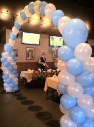 ballon delivery nyc columns and arch restaurant entrance island ny nyc