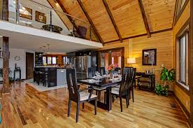 a modern day log home absolutely timber block