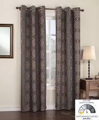 amazon com sun zero ravi thermal lined energy efficient curtain