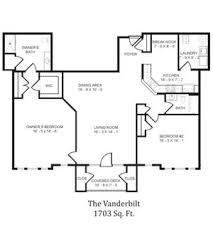 Vanderbilt Floor Plans The Willows At Victoria Falls Ages 55 Apartments 14001 Belle