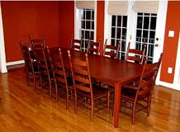 Shaker Style Dining Room Furniture Hardwood Dining Table Guide When Buying A Hardwood Dining Table