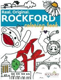 rockford u0027s true colors tourism bureau coloring book lets you