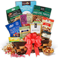 healthy snack gift basket healthy christmas basket by gourmetgiftbaskets