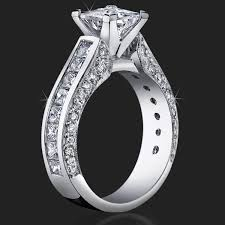 big diamond engagement rings best selling style princess diamond engagement ring with