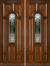 Entrance Doors by Exterior Double Doors Solid Mahogany Double Doors 8 0