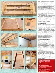 Bunk Bed Side Rails Convertible Bunk Bed Plans Woodarchivist