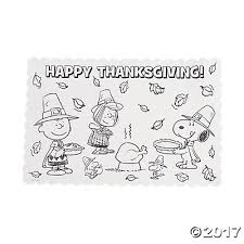 sup sup color your own thanksgiving placemats