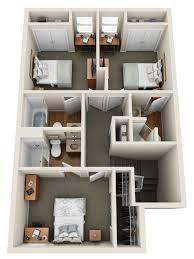 2 floor apartments meadows crossing gvsu student housing allendale apartments