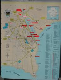 Local Map Bus Timetable Local Routes Around Lagos Portugal