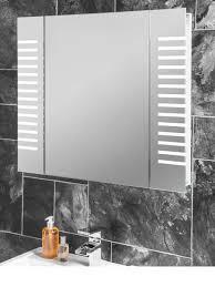 bathroom cabinets steam free led illuminated bathroom mirror
