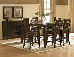 crown point 1372 36 counter height dining table w options