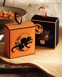 halloween party goody bags halloween treat bags and favors martha stewart