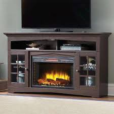 Electric Fireplace Tv by Brown Fireplace Tv Stands Electric Fireplaces The Home Depot