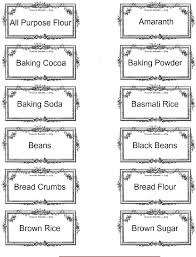 19 kitchen canister labels the ethnic pantry free printable
