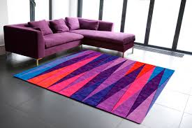 Neon Area Rug Tri Angles Contemporary Modern Area Rugs By Sonya Winner