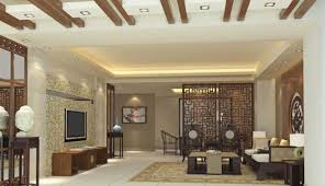 chinese art of interior decoration wooden partition interior design