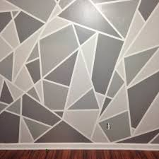 Project Nursery V A Geometric Mosaic Wall In Grey Ombre - Wall mosaic designs