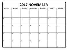 printable calendar page november 2017 pin by chigulugulu on 2017 printable calendars pinterest