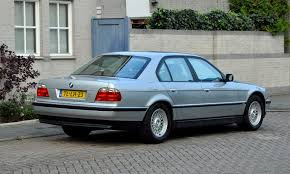e38 bmw 750i in arctic silver arktissilber shadowline and