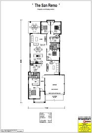 San Remo Floor Plans The San Remo Alkimos Beach Dreamstart Homes