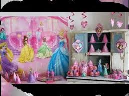 Princess Party Decorations Diy Simple Princess Party Decorations Youtube