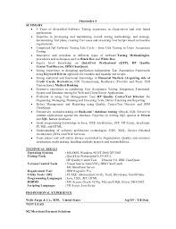 Resume For Software Testing Experience 9 Yrs Qa Test Lead Wells Fargo