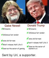 25 best memes about gabe newell gabe newell memes