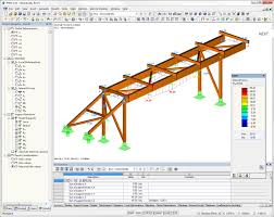 Free Timber Roof Truss Design Software by Rfem Structural Fem Analysis U0026 Design Software Dlubal Software