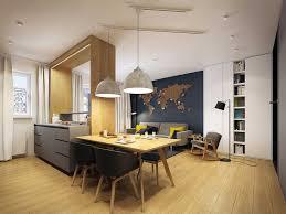 deco cuisine ouverte sur salon design interieur déco cuisine ouverte salon tendance poster mural