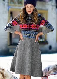 fair isle sweater dress fair isle dress with pink flowers dress me fair