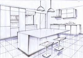plans cuisine plan cuisine ilot central plan cuisine ilot table avec central bar