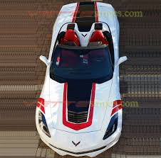 white c7 corvette 2017 c7 corvette grand sport center stripe or c7 corvette stingray