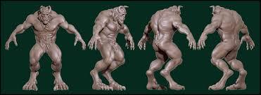 3d printable model beauty beast cgtrader