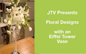 Eiffel Tower Vase With Flowers How To Make An Arrangement In An Eiffel Tower Vase Ubloom
