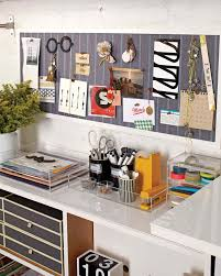 Office Organization Ideas For Desk by Before And After A Transformed Desk Area Martha Stewart
