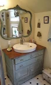 antique and vintage bathroom vanity with classic nuance the