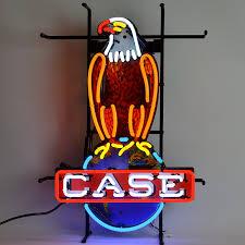 amazon com neonetics case eagle international harvester neon sign