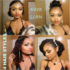 hairstyles for black women no heat the great gatsby inspired 4 hair styles 5 min or less no heat