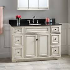 Misschon Vanity For Undermount Sink Antique White Bathroom - 48 white bathroom vanity cabinet