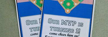 cute baseball birthday party invitations template birthday party