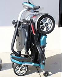 the lexis light foldable mobility scooter amazon com lexis light folding travel scooter blue challenger