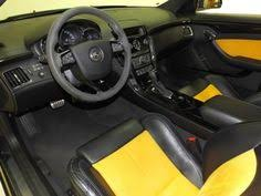 Cadillac Cts Coupe Interior Cadillac Cts V Coupe Interior With Adjustable Seat Yellow And