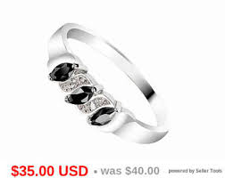 Black Wedding Rings For Her by Black Wedding Ring Etsy