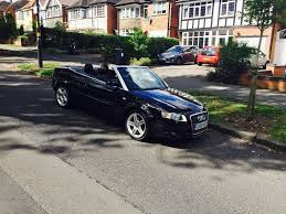 audi a4 tdi cabriolet 2 litre diesel 2 owners convertible black